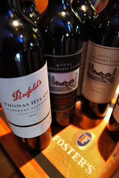 Foster's Rejects Offer of $2.5 Billion for Wine Unit