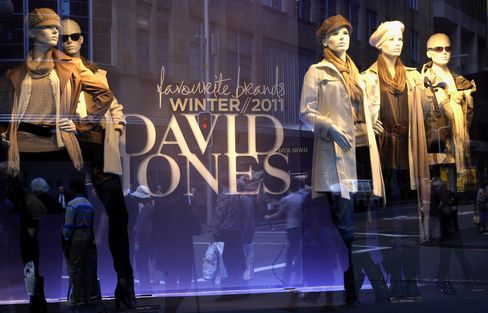 David Jones Gets A$1.65 Billion Bid, Knows Nothing of Suitor