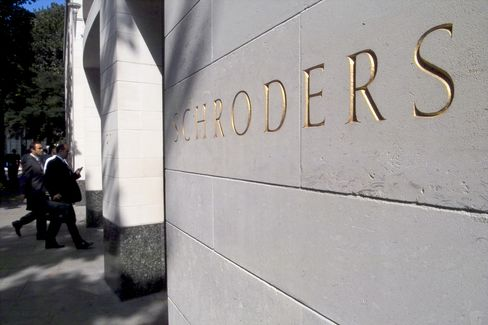 Schroders Employee Among FSA Insider-Trading Probe Arrests