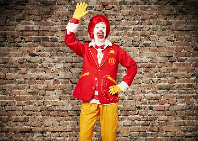 Terrifying. Source: McDonald's
