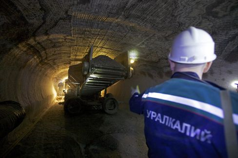 Potash Rally to Slow as Mining Capacity Expands