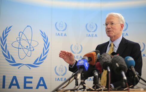 IAEA U.S. Envoy Joseph MacManus