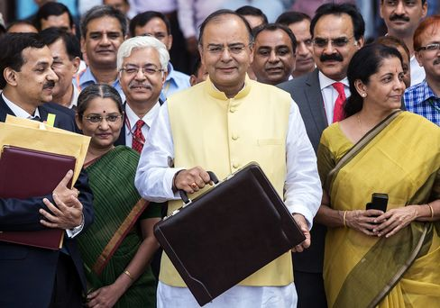 Finance and Defense Minister Arun Jaitley