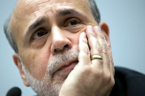 Bernanke Saying He's Dispensable Suggests Tenure Winds Down