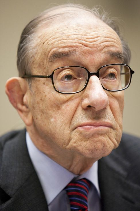 Former U.S. Federal Reserve Chairman Alan Greenspan