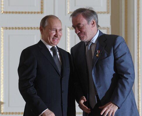 Putin and Gergiev