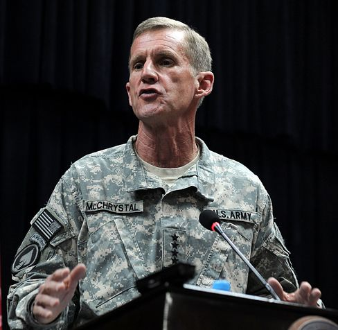 McChrystal Offers Resignation
