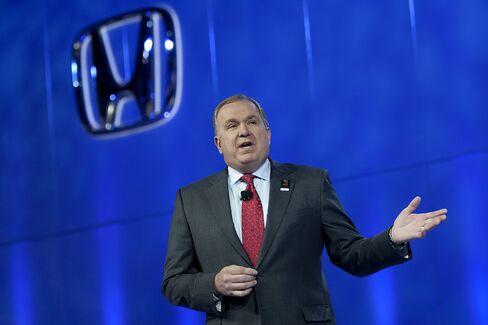Honda's Executive VP of U.S. Sales John Mendel