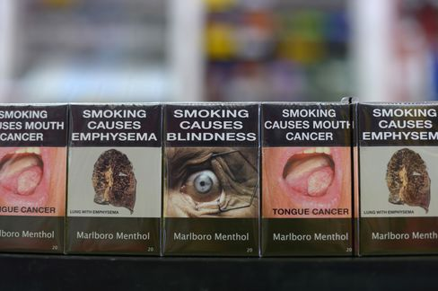 Cancer Replaces Crests as Australia Cigarette Law Begins: Retail