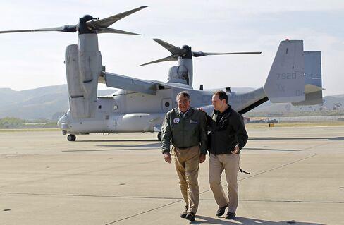 Japan Declares U.S. V-22 Osprey Safe to Send to Okinawa Base