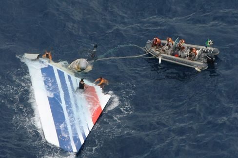 Wreckage of Air France Flight 447