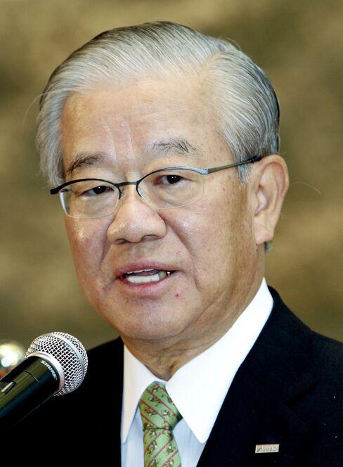 Masayuki Oku, chairman of Sumitomo Mitsui Financial Group