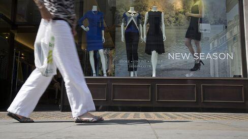 U.K. Retail Sales Increase as Discounts Spur Consumer Demand