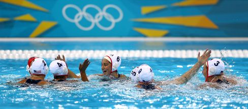 U.S. Women Tap New York Club Ties in Quest for Water Polo Gold