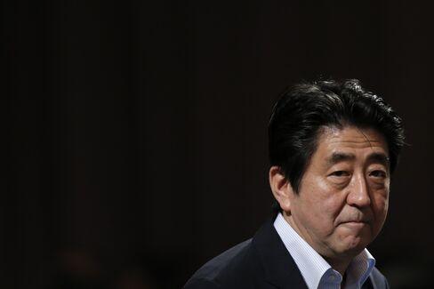 Japan's Prime Minister Shinzo Abe