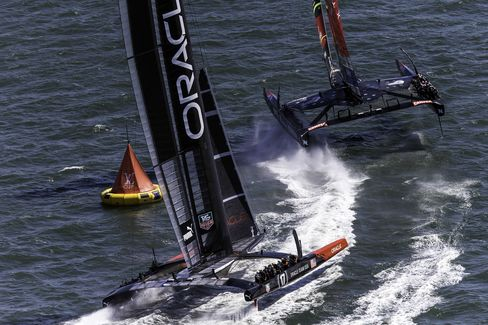 Oracle Beats New Zealand for Third America's Cup Race Victory