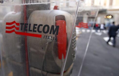Telecom Italia's Debt Near Junk Status as CEO Rejects Stock Sale