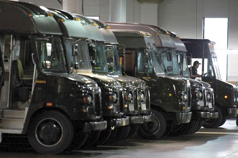 UPS Uses Big Data to Cut Fuel Use Making Routes More Efficient