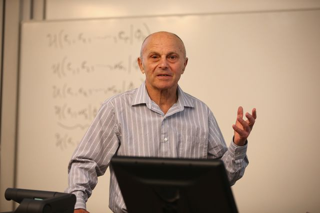 Yeah, Eugene Fama got a Nobel. So did Knut Hamsun. Photographer: Scott Olson/Getty Images