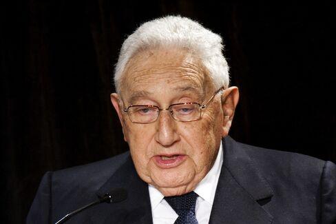 Former U.S. Secretary Henry Kissinger