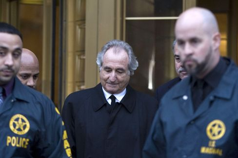 Madoff Delirious in Bid to Avoid Handcuffed Exit, Jury Told