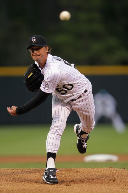 Colorado Rockies Pitcher Jamie Moyer
