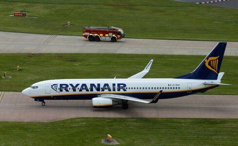 Ryanair Says Annual Profit May Miss Target