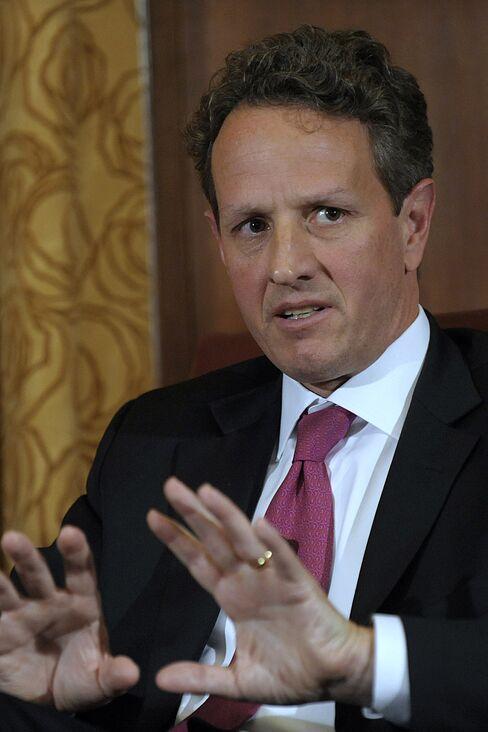 U.S. Treasury Secretary Timothy F. Geithner