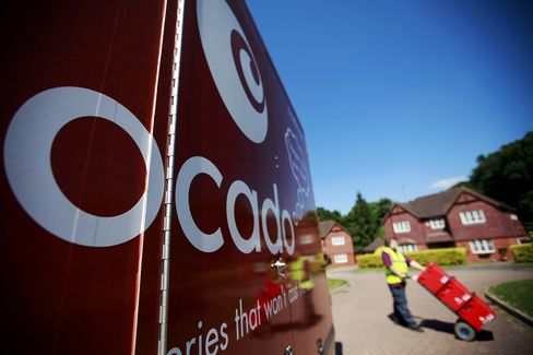 Ocado Annual Loss Narrows as Online Grocery Sales Gain