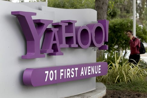 Yahoo Said to Work With Goldman Fend Off Takeover Approaches