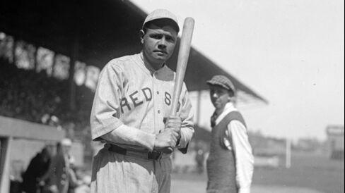 Baseball Great Babe Ruth