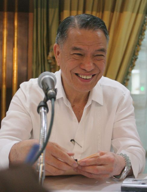 Philippine Billionaire Lucio Tan