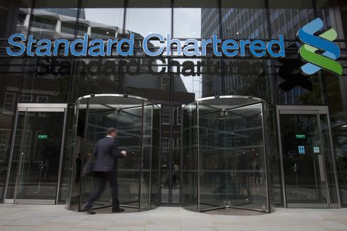 Standard Chartered Falls Most in 24 Years on N.Y. Iran Probe