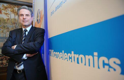 STMicroelectronics CEO Carlo Bozotti