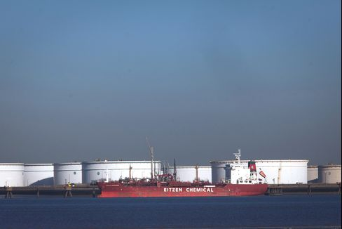 North Sea Oil Exports to Asia at Eight-Year High