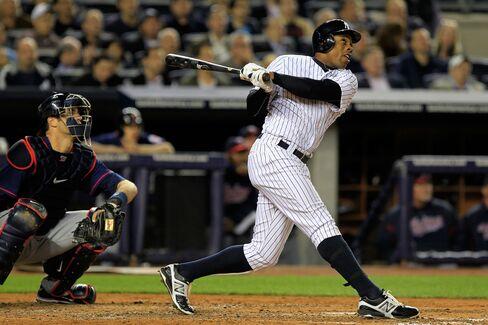 Granderson Hits Three Home Runs in Yankees' 7-6 Win