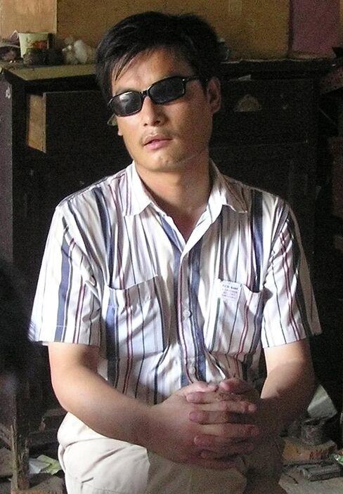 Blind Legal Activist Chen Guangcheng