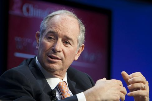 Stephen Schwarzman, chairman and CEO of the Blackstone Group