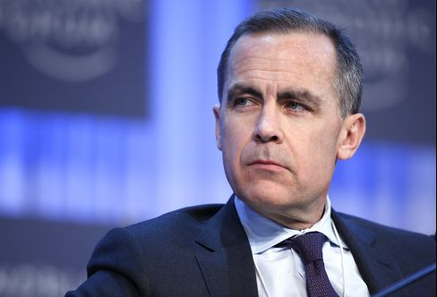Bank of England Governor-designate Mark Carney