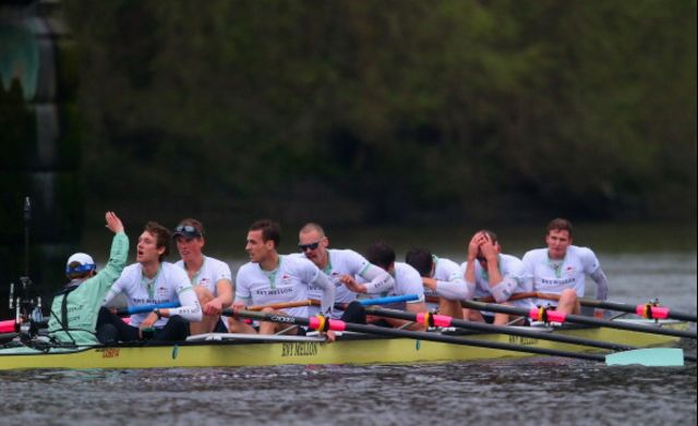 Cambridge's foreigners in defeat. Photographer: Clive Rose/Getty Images