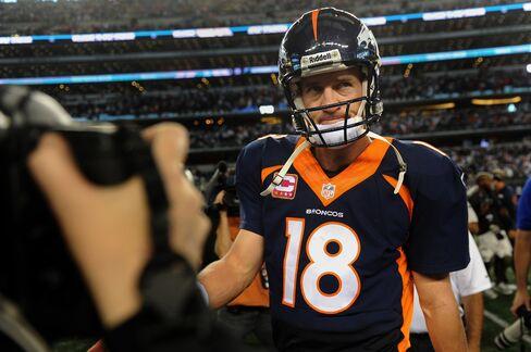 Bronces Quarterback Peyton Manning