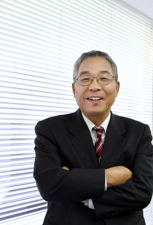 Yukio Sakamoto, president of Elpida Memory Inc
