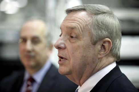 Democratic U.S. Senator Dick Durbin