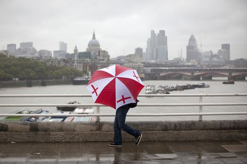 U.K. Economic Forecasts Cut as E&Y Sees Osborne Missing Target