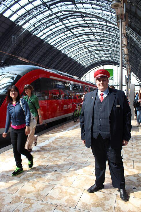 Deutsche Bahn Trainee Fabian Scholz