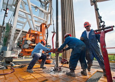 Drilling in Texas