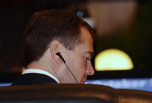 Medvedev Visits Islands at Center of Japan Dispute