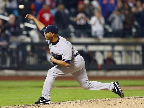 Mets Beat Yankees 2-1 as Rivera Has 1st Blown Save of MLB Season