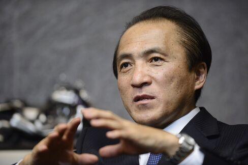 Yamaha Motor CEO Hiroyuki Yanagi
