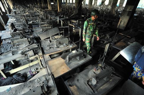 At Least 124 Killed in Fire at Bangladesh Garment Factory